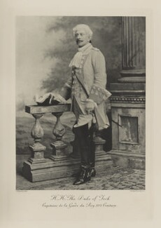 Prince Francis, Duke of Teck as Capitaine de la Garde du Roy, XVI Century, by Lafayette, photogravure by  Walker & Boutall - NPG Ax41011