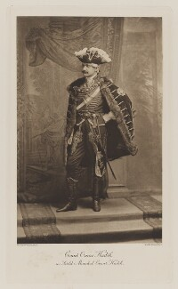 Count Omar Hadik as Field Marshal Count Hadik, by Henry Van der Weyde, photogravure by  Walker & Boutall - NPG Ax41017