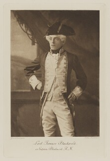 Terence John Temple Hamilton-Temple-Blackwood, 2nd Marquess of Dufferin and Ava when Lord Terence Blackwood as Captain Blackwood, R.N., by Gunn & Stuart, photogravure by  Walker & Boutall - NPG Ax41039