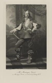 Montague John Guest as Montague Bertie, 2nd Earl of Lindsey, K.G., by Henry Van der Weyde, photogravure by  Walker & Boutall - NPG Ax41050