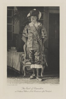 Edward Hyde Villiers, 5th Earl of Clarendon as William Villers, Lord Grandison after Vandyck, by Frederick Downer, photogravure by  Walker & Boutall - NPG Ax41061