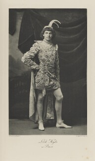 George Herbert Hyde Villiers, 6th Earl of Clarendon when Lord Hyde as Romeo, by Henry Van der Weyde, photogravure by  Walker & Boutall - NPG Ax41100