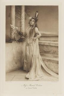 Muriel Wilson as Queen Vashti, by Henry Bullingham, photogravure by  Walker & Boutall - NPG Ax41101