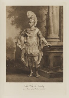 Sir George Frederick Stanley as Maro (period of Louis XVI), by Lafayette, photogravure by  Walker & Boutall - NPG Ax41104