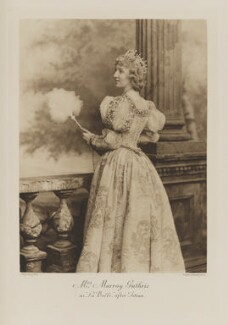 Olive Louisa Blanche Guthrie (née Leslie, later Stirling) as 'La Belle', after Titian, by Lafayette, photogravure by  Walker & Boutall - NPG Ax41109