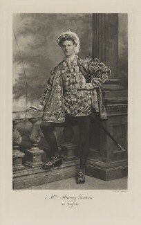 Walter Murray Guthrie as Cassio, by Lafayette, photogravure by  Walker & Boutall - NPG Ax41110