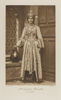 Marie Rothschild (née Perugia) as Zobeida, by Alice Hughes, photogravure by  Walker & Boutall - NPG Ax41119