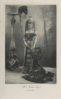 Mary ('Minnie', née Stevens), Lady Paget as Cleopatra, by John Thomson, photogravure by  Walker & Boutall - NPG Ax41154