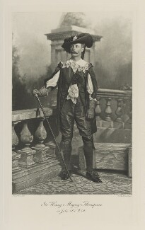 Henry Meysey Meysey-Thompson, 1st Baron Knaresborough as John De Witt, by Lafayette, photogravure by  Walker & Boutall - NPG Ax41157