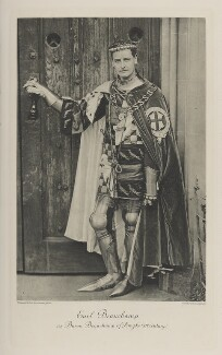 William Lygon, 7th Earl Beauchamp as Baron Beauchamp of Powyke (XIV Century), by Thomas Bennett & Sons, photogravure by  Walker & Boutall - NPG Ax41163