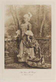 Eleanor Frances Weston (née Van de Weyer), Viscountess Esher when Hon. Mrs Brett as Manon Lescaut, by Lafayette, photogravure by  Walker & Boutall - NPG Ax41188