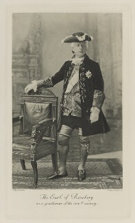 Archibald Philip Primrose, 5th Earl of Rosebery as a gentleman of the XVIIIth Century, by Lafayette (Lafayette Ltd), photogravure by  Walker & Boutall, 20 August 1897; published 1899 - NPG Ax41191 - © National Portrait Gallery, London