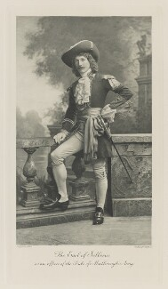 William Waldegrave Palmer, 2nd Earl of Selborne as an officer of the Duke of Marlborough's Army, by Lafayette, photogravure by  Walker & Boutall - NPG Ax41197