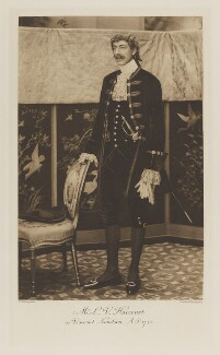 Lewis Harcourt, 1st Viscount Harcourt as Viscount Nuneham, A.D. 1750, by Reginald Haines, photogravure by  Walker & Boutall, 1897; published 1899 - NPG Ax41214 - © National Portrait Gallery, London