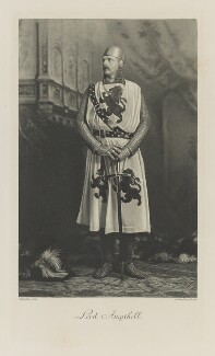 (Arthur) Oliver Villiers Russell, 2nd Baron Ampthill as a Knight of King Arthur's Round Table, by Lafayette (Lafayette Ltd), photogravure by  Walker & Boutall, 2 July 1897; published 1899 - NPG Ax41220 - © National Portrait Gallery, London