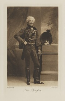 George Charles Bingham, 5th Earl of Lucan when Lord Bingham, by John Thomson, photogravure by  Walker & Boutall - NPG Ax41229