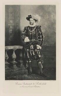 Ferdinand James Anselm de Rothschild, Baron de Rothschild as Casimir Count Palatine, by Lafayette, photogravure by  Walker & Boutall - NPG Ax41231