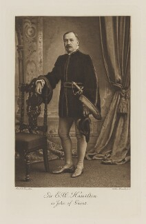 Eddy Hamilton as John of Gaunt, by Maull & Fox, photogravure by  Walker & Boutall - NPG Ax41243