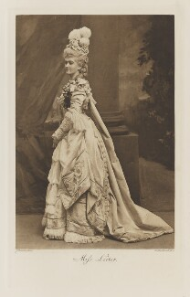 Marguerite Hyde ('Daisy', née Leiter), Countess of Suffolk when Miss Leiter, by John Thomson, photogravure by  Walker & Boutall - NPG Ax41245