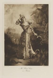Marie Elizabeth Françoise Hope-Vere (née Guillemin) as Medusa, by John Thomson, photogravure by  Walker & Boutall - NPG Ax41247