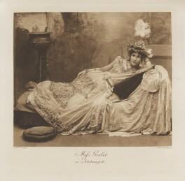 Mary (née Goelet), Duchess of Roxburghe as Scheherazade, by John Thomson, photogravure by  Walker & Boutall - NPG Ax41258
