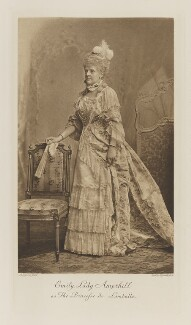 Emily Theresa (née Villiers), Lady Ampthill as the Princess de Lamballe, by Lafayette (Lafayette Ltd), photogravure by  Walker & Boutall, 27 July 1897; published 1899 - NPG Ax41278 - © National Portrait Gallery, London