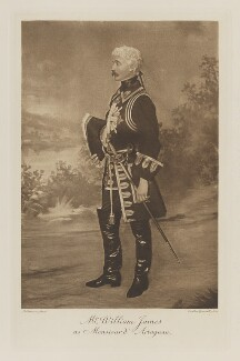 William Dodge James as Monsieur d'Artagnan, by Le Conteur, photogravure by  Walker & Boutall - NPG Ax41283