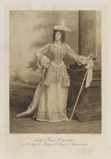 Lady Ethel Maud Warrender (née Ashley-Cooper) as Duchesse de Lauzun, La Grande Mademoiselle, by Lafayette, photogravure by  Walker & Boutall - NPG Ax41285