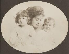 Sylvia Jocelyn Llewelyn Davies (née Du Maurier); George Llewelyn Davies; Jack Llewelyn Davies, by Unknown photographer - NPG Ax45601