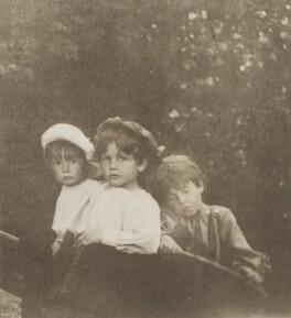 Peter Llewelyn Davies; George Llewelyn Davies; Jack Llewelyn Davies, by J.M. Barrie - NPG Ax45614