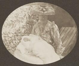 Sylvia Jocelyn Llewelyn Davies (née Du Maurier); Michael Llewelyn Davies, by J.M. Barrie - NPG Ax45621