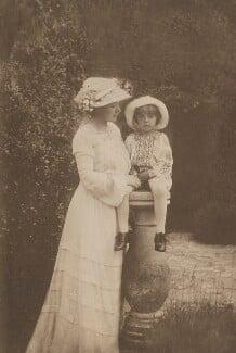 Sylvia Jocelyn Llewelyn Davies (née Du Maurier); Michael Llewelyn Davies, by J.M. Barrie - NPG Ax45624