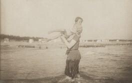 Sylvia Jocelyn Llewelyn Davies (née Du Maurier); Michael Llewelyn Davies, by J.M. Barrie - NPG Ax45631
