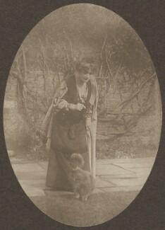 Sylvia Jocelyn Llewelyn Davies (née Du Maurier), by J.M. Barrie - NPG Ax45641