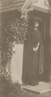 Sylvia Jocelyn Llewelyn Davies (née Du Maurier), by J.M. Barrie - NPG Ax45644
