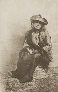 Sylvia Jocelyn Llewelyn Davies (née Du Maurier), by J.M. Barrie - NPG Ax45645