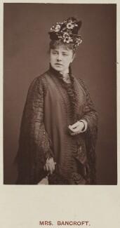 Marie Effie (née Wilton), Lady Bancroft, by Lock & Whitfield, published by  Hardwicke & Bogue - NPG Ax45745