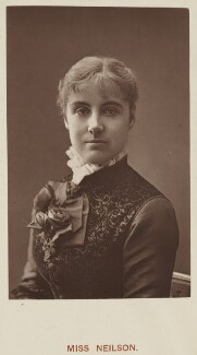Adelaide Neilson, by Unknown photographer, published by  Hardwicke & Bogue - NPG Ax45752