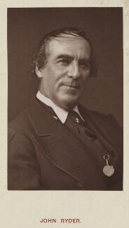 John Ryder, by Unknown photographer, published by  Hardwicke & Bogue - NPG Ax45753