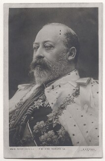 King Edward VII, by W. & D. Downey, published by  Rotary Photographic Co Ltd - NPG Ax45812
