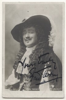 Fred Terry, published by Rotary Photographic Co Ltd - NPG Ax45834