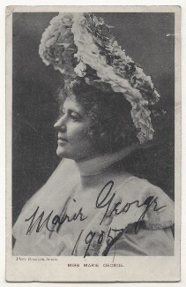 Marie George, by The Biograph Studio, published by  Davidson Brothers - NPG Ax45843