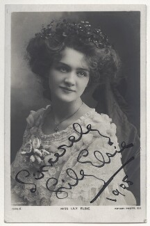 Lily Elsie (Mrs Bullough), by Richard Williams Thomas, published by  Rotary Photographic Co Ltd - NPG Ax45853