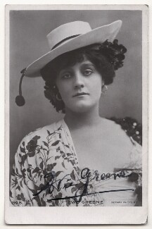 Evie Greene, by Bassano Ltd, published by  Rotary Photographic Co Ltd - NPG Ax45856