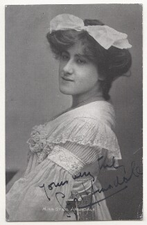 Sybil Arundale (née Rosa Maria Kelly), published by Davidson Brothers - NPG Ax45858