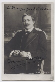Maurice Farkoa, published by Rotary Photographic Co Ltd - NPG Ax45861