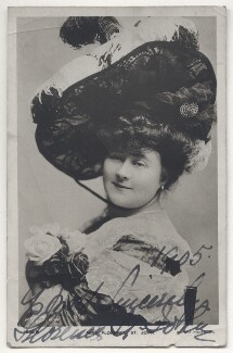 Florence St John, by Johnston & Hoffmann, published by  Rotary Photographic Co Ltd - NPG Ax45878