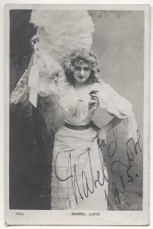 Mabel Love, published by Rotary Photographic Co Ltd - NPG Ax45895