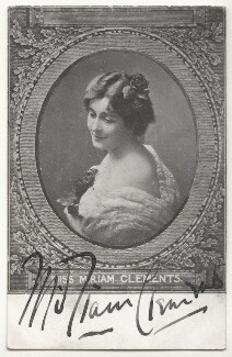 Miriam Clements, published by Davidson Brothers - NPG Ax45898