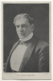 Arthur Bourchier, by London Stereoscopic & Photographic Company, published by  Davidson Brothers - NPG Ax45913